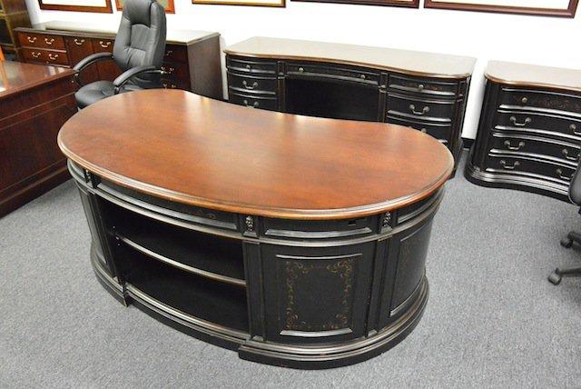 Kidney Shape Executive Desk Set