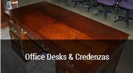 office desks & credenzas